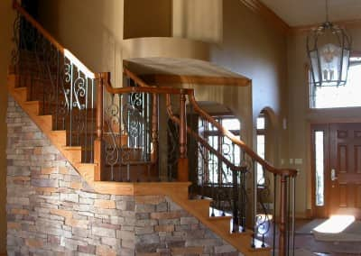 Stunning Stairwell Pittsburgh Home Construction