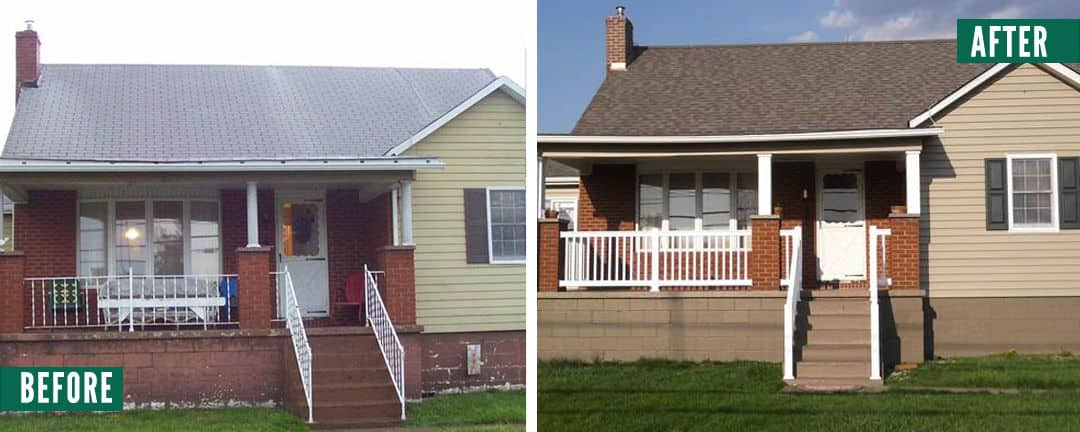 before-after-front-porch