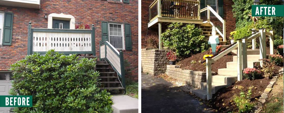 before-after-front-steps-shula
